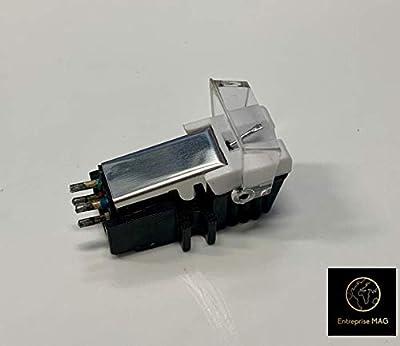 Chrome Cartridge + Diamond stylus for Pioneer PL112D, PL12D, PL117D, PL15R, PL514, PL50