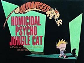 Homicidal Psycho Jungle Cat Ppb (Paperback)--by Bill Watterson [1994 Edition]