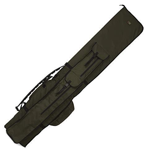 Fox R-Series 13ft 4 Rod Holdall 210x39cm - Angeltasche für Karpfenruten, Rutentasche für Angelruten, Rutenfutteral, Tackletasche