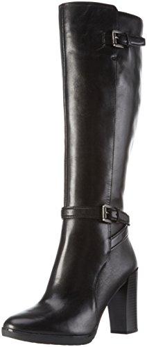Geox Damen D Raphal C Langschaft Stiefel, Schwarz (BLACKC9999), 40 EU