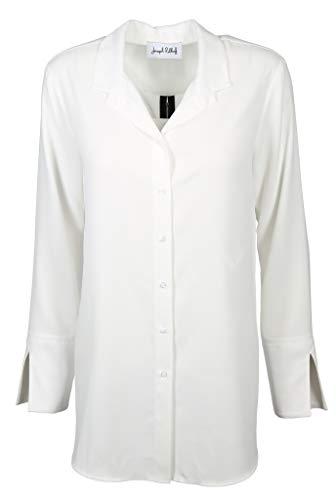 Joseph Ribkoff Damen Bluse Größe 44 EU Weiß (weiß)