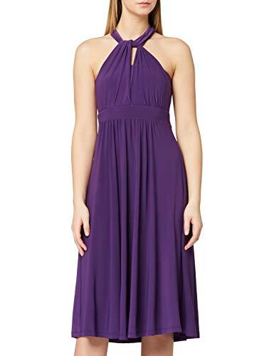 Marca Amazon - TRUTH & FABLE Vestido Mujer Multiposición  Morado (Bright Purple)  38  Label: S