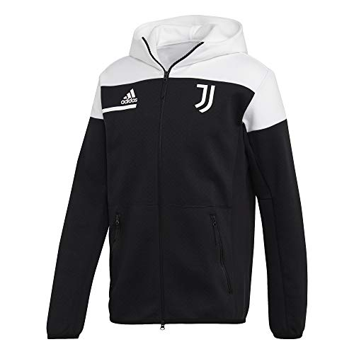 adidas Herren Juve Zne Jacke, Black/White, M