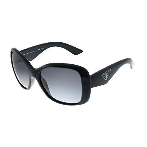 Prada 0PR32PS 1AB5W1 57 Gafas de sol, Negro (Black/Polar Grey), Unisex-Adulto
