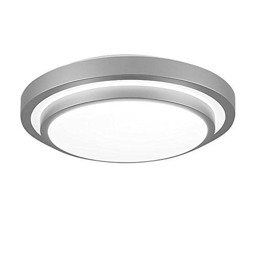 ZHMA Lámpara de techo empotrada LED, 12W, Lámpara de techo hueca, Lámpara de panel LED resistente al agua, Blanco frío, Iluminación para sala de estar/Dormitorio/Baño/Cocina/Vestíbulo