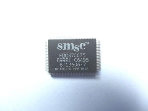 Smsc Fdc37C675 Qfp I/O Controller Floppy Disc-Controller, 0,09 A, 100-polig Pqfp,