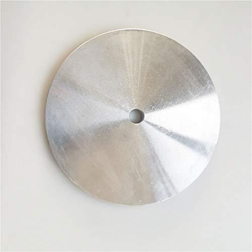 L-Yune, Almohadillas de Pulido de lap de Aluminio de Aluminio de 1 UNID 6'Pulgadas para Ruedas de Disco de Disco Plana con Recubrimiento de Diamante Rueda abrasiva