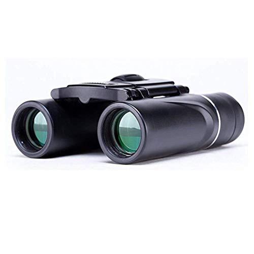 yunyu Binoculares compactos de Bolsillo 8X21 Mini telescopio Plegable portátil BAK4 Camping...