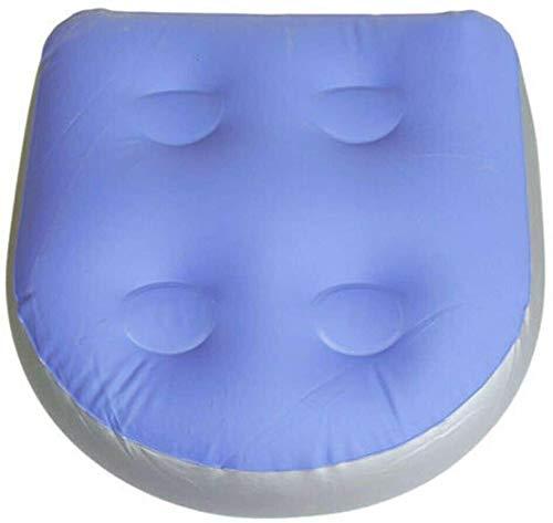 WKDZ Multifunktionale Spa-Booster-Sitz Sicherheitsmatratzen mit Saugbecher Griff Whirlpool Massagekissen Aufblasbare Füllwasserauflage Ideal für Erwachsene oder Kinder 1222