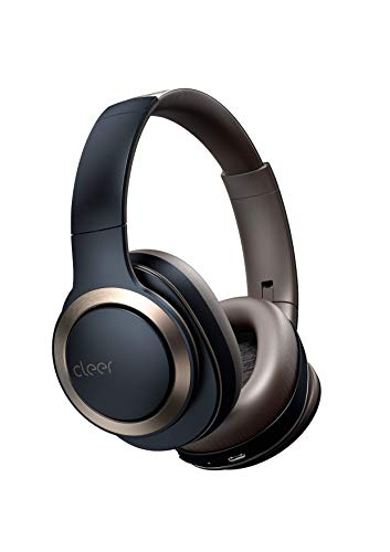 Cleer Audio, Enduro ANC Noise Cancelling Headphones, Long Lasting 60 Hour Battery, Ambient Sound Levels, Bluetooth Headphones, Smart Controls with Cleer+ App - Black