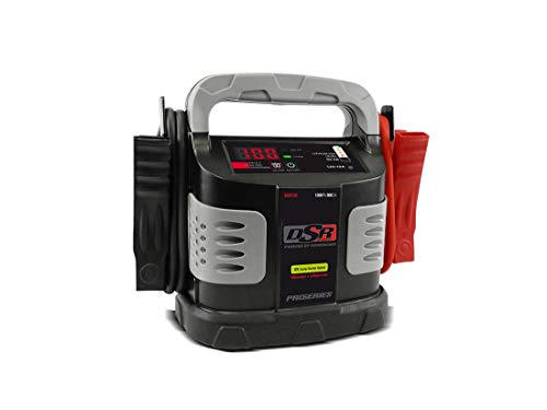 Schumacher DSR132 Ultra capacitor Hybrid Jump Starter with Clamp