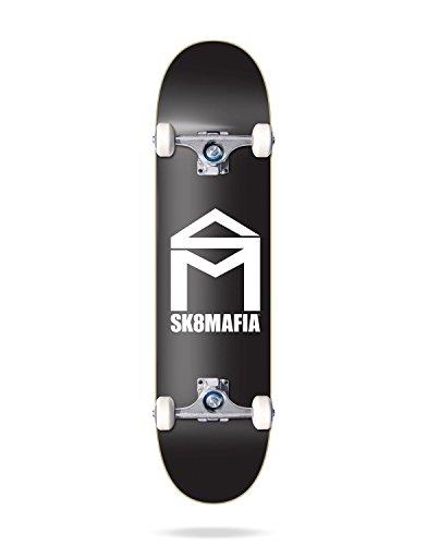 Sk8Mafia SMCS6A01-04 Skateboard Completos, Unisex Adulto, Negro, Talla Única
