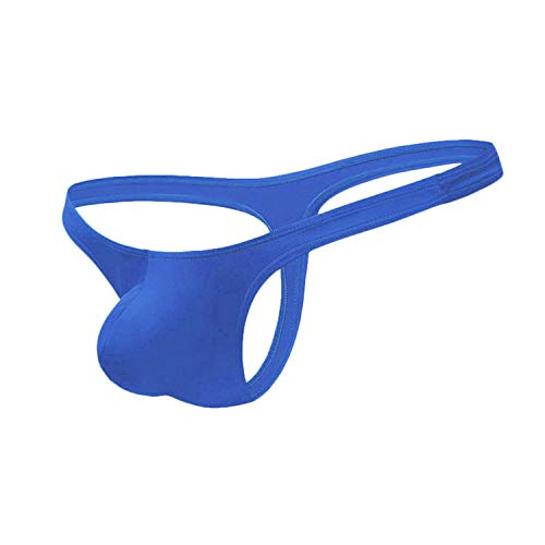 AAYAN BABY Men's Thong Unique, Comfort and Colourful Royal Blue Medium Size