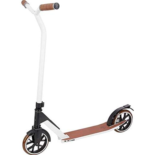FIREFLY Unisex – Erwachsene F 180 Scooter, White/Black/Brown, One Size