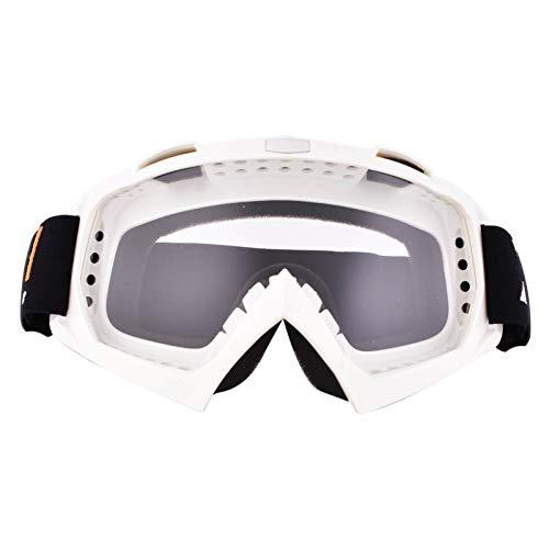 Gafas de Motocross Dirt Bike Racing Gafas de seguridad anti UV Gafas de motocicleta a prueba de viento a prueba de polvo Gafas de motocicleta antirayaduras para ciclismo, montañismo/escalada/esquí