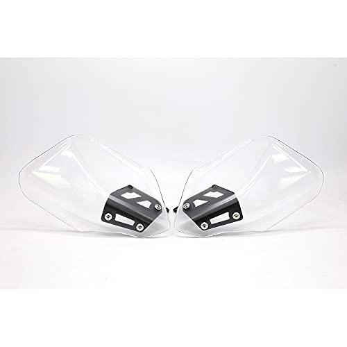 SHIHAOLAN PROTECTOR SHIELD HANDGUARD MOTORE Compatible with BMW R NINE T R NINE T PURE SCRAMBLER URBAN G/S Parabrezza (Color : Transparent)