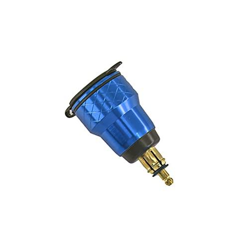 MEIMEI Store CARGA RÁPIDA 3.0 DUAL USB Adaptador de corriente del zócalo del puerto del enchufe del cargador DIRIGIÓ Pantalla digital apta para BMW R1200GS R1250GS F800GS R1250 GS ( Color : Blue )
