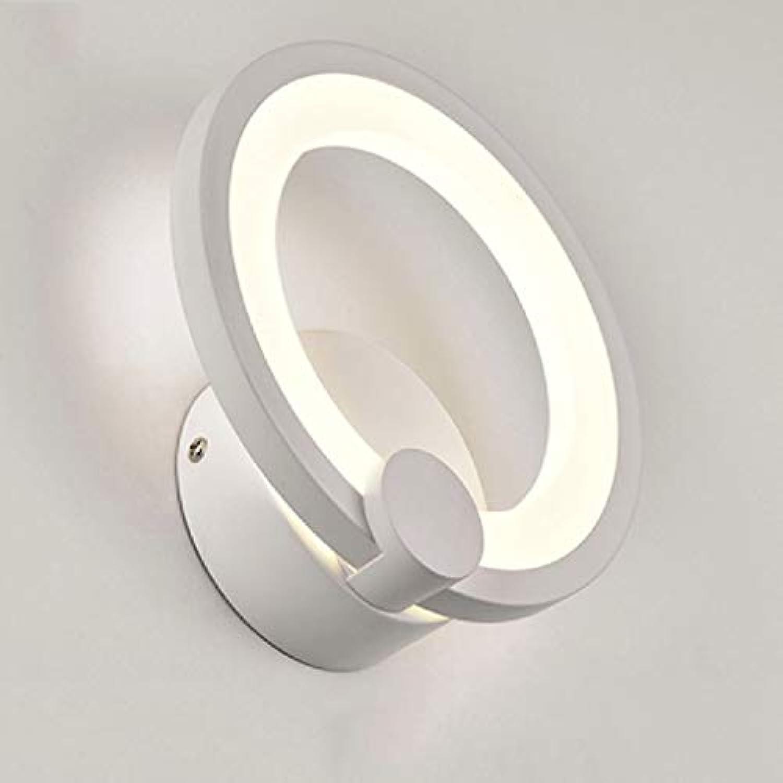 SPA  LED Wandleuchten 15W Wohnzimmer Schlafzimmer Deckenleuchten LED Innenwandleuchte Moderne Beleuchtung für Zuhause Wandmontierte LED-Wandleuchte 19cm 26cm (Gre  Durchmesser  19cm)