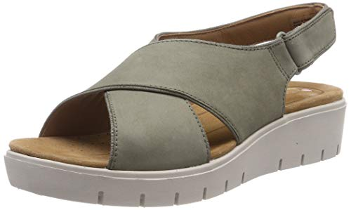 Clarks Un Karely Sun, Chanclas Mujer