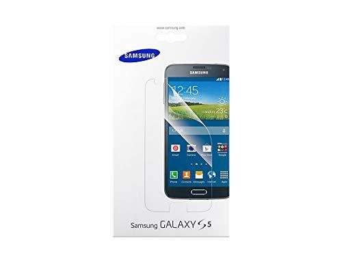 Samsung Displayschutzfolie (2 Stück) inkl. Reinigungstuch/Blasenspachtel für Samsung Galaxy S5