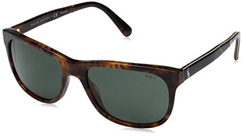 Ralph Lauren POLO 0PH4116 Gafas de sol, Shiny Jerry Tortoise, 58 para Hombre