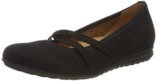 Gabor Shoes Comfort Sport, Ballerines Femme, Noir (Schwarz 47), 38 EU
