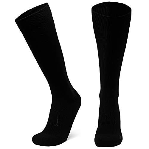 Calcetines de Compresión 1 par (Negro sólido, EU 43-47)