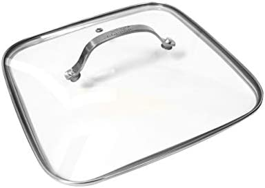 As Seen On TV Red Copper Square Dance 9 5 Lid product image
