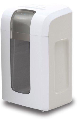 Bonsaii 5S30 Aktenvernichter, bis zu 5 Blatt Papier, Super-Mikroschnitt (Sicherheitsstufe P-6), mit CD - Shredder, 4 Stunden Dauerbetrieb (ca. 10.000 DIN A4 Seiten) - geeignet nach DSGVO 2018, weiß