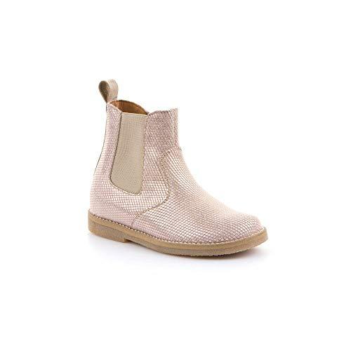 Froddo Mädchen G3160098-9 Girls Chelsea Boots, Pink (Nude+ Ia5), 33 EU
