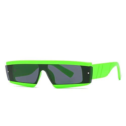 AMFG Gafas de sol de marco pequeñas retro Hombres y mujeres modernos Gafas de sol Tendencias al aire libre (Color : D)