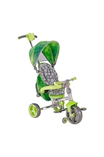 mondo Tricycle Unique 25339 Harnais,Vert strolly Compact