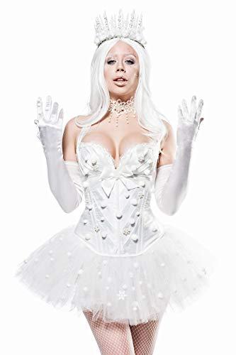 Mask Paradise Snow Princess, Kostümset für Damen, Größe: M
