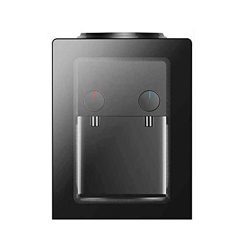 ZJZ Dispensador de Agua eléctrico frío Caliente con función de Calentador de Agua de Escritorio para el hogar, para café de Oficina en casa