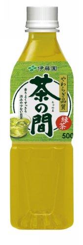 伊藤園 やわらぎ品質 茶の間 ペット 500ml×24本
