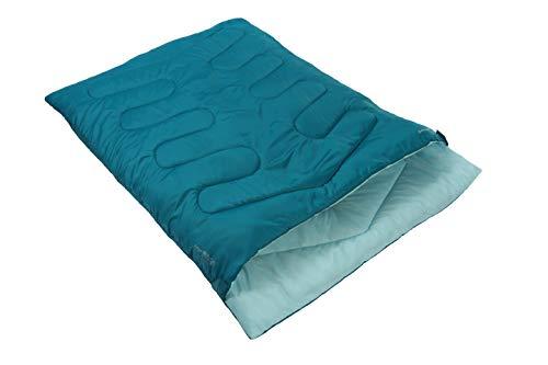 Photo of Vango Unisex's Double Sleeping Bag, Bondi Blue