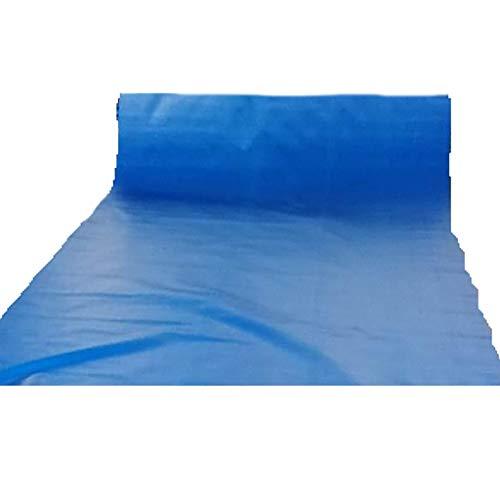YXJBD Tarp Sheet PVC Milieubescherming Tarpaulin Waterdicht Vuurvast Canvas Lassen Doek Zware Duty Tarp 26.4x33ft/8x10m Blauw
