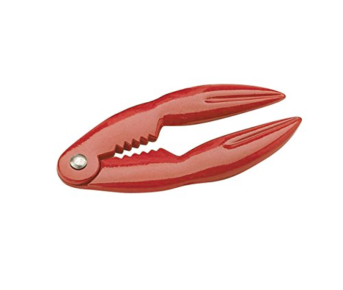 KitchenCraft Schiacciachele per Aragoste, Rosso,14 x 7 cm