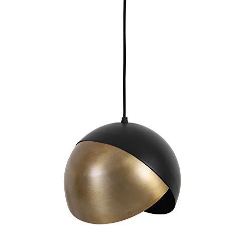 Lámpara colgante Namco 25 negro/bronce antiguo