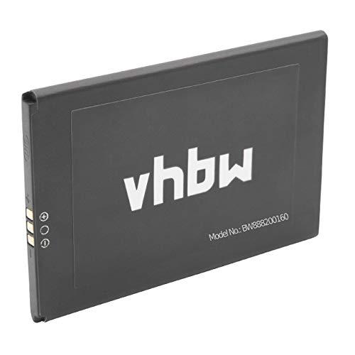 vhbw Akku passend für UMIDIGI London Handy Smartphone Handy (2050mAh, 3.8V, Li-Ion)