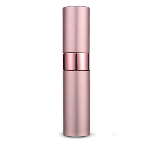 OUBOT Verre Bouteille Spray Parfum Bouteille Voyage Portable séparée Presse Type de Arrosoir pour Le Nettoyage (Color : Pink)