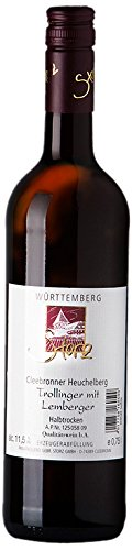 Weingut Storz Trollinger mit Lemberger Halbtrocken (6 x 0.75 l)
