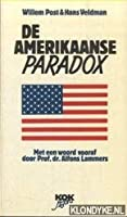 De Amerikaanse paradox 902427656X Book Cover