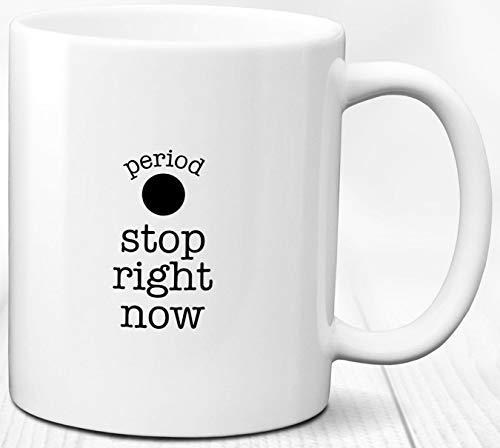 Grammatik Kaffeebecher Englisch Nerd Geschenkperiode 330 ml lustige Keramik Tasse Tee