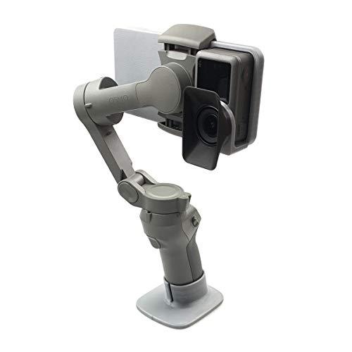 Hensych Schalter Montieren Teller Adapter für OSMO Action Kamera,Kompatibel mit DJI OSMO Mobile 3 Handheld Gimbal Stabilisatoren
