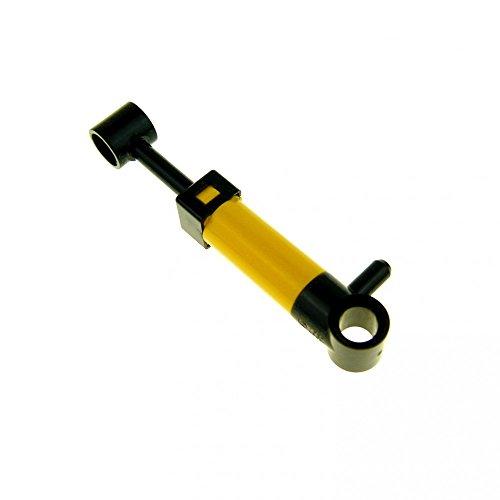 Bausteine gebraucht 1 x Lego Pneumatic Zylinder gelb schwarz 5,5 L Technic Kolben Mini Pumpe klein Pneumatik geprüft x191c01