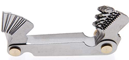 BGS 3067 | Gewindeschablone | 24 Blatt | metrisch 0,25 - 6,00 mm