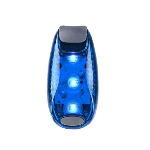 Ububiko LED luz Intermitente Juego de Luces de Seguridad luz de Seguridad para niños Mochila Corredor Nocturno montañero luz para Perros Remolque con luz Continua y luz Intermitente
