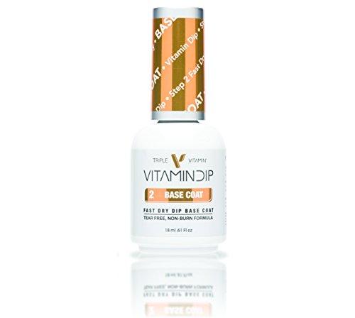 Triple Vitamin dip liquid (0.6oz. /each) (Step 2-Base Coat)