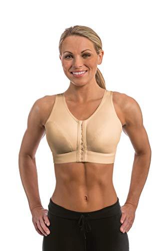 Enell, Lite, Women's Full Coverage Sports Bra - Ecru, Size 4